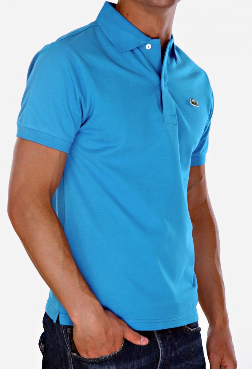 Lacoste Mens Short Sleeve Pique L1212 Classic Fit Polo