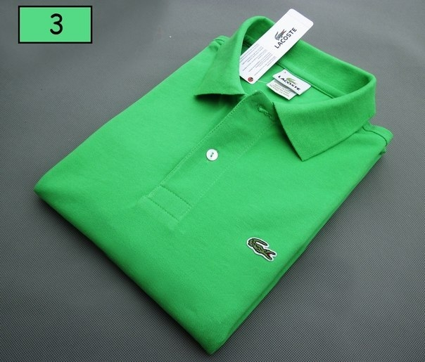 5611a8980ca ... Мужское поло Lacoste светло-зеленое